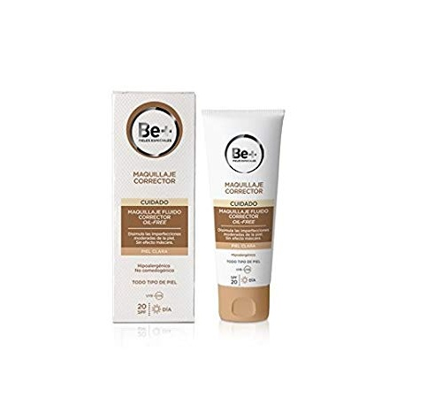 Be+ maquillaje fluido corrector oil free spf 20 (p oscura 40 ml)