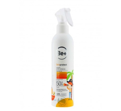 Be+ skin protect spray fluido infantil spf50+ (250 ml)