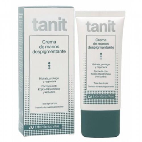 Tanit crema de manos despigmentante spf 25 (50 ml)