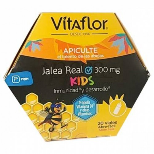 Vitaflor jalea real kids (20 ampollas bebible 10 ml)