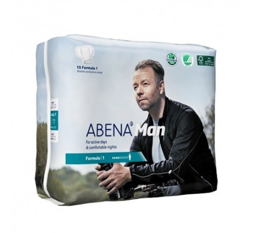 Absorb inc orina anat - abri man formula 1 (230 x 290 mm 14 u)