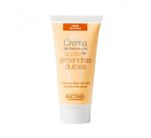 Bactinel crema de manos con aceite de almendras (50 ml)