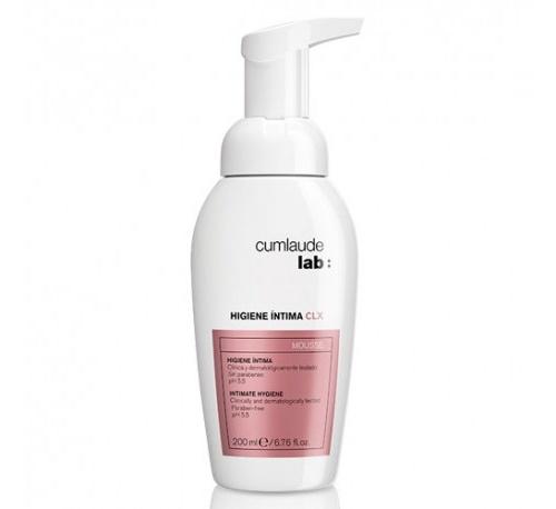 Cumlaude lab: higiene intima clx (mousse 200 ml)