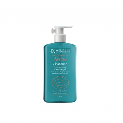 Avene cleanance gel limpiador (400 ml)