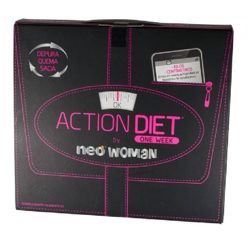 Action diet neo woman pack (7 viales +28 capsulas +28 capsulas)