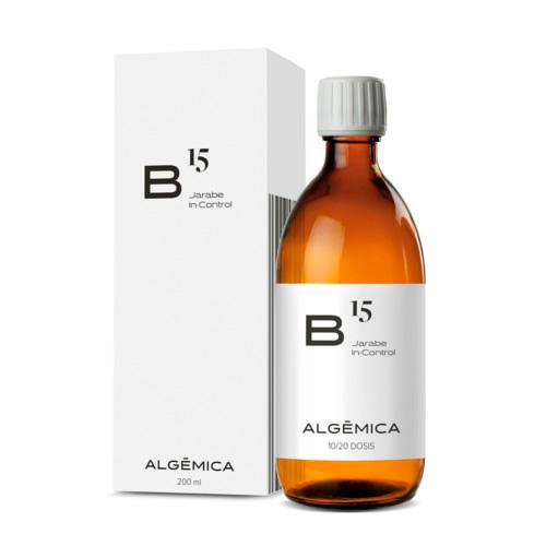 Algemica b15 jarabe in control 200ml