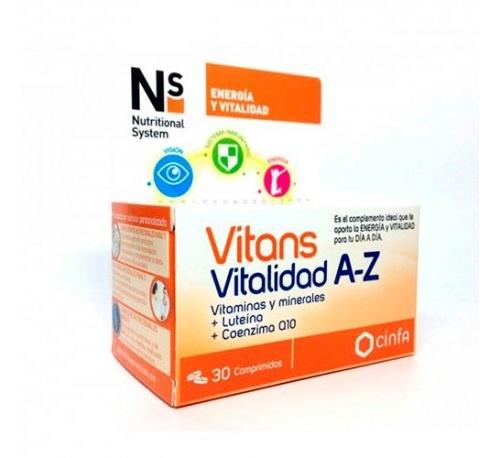 NS Vitans vitalidad a-z (30 comprimidos)