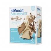 Bimanan snack chocolate c leche (sabor yogur 20 g 6 biscuits)