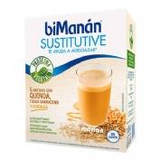 Bimanan sustitutive batidos - con quinoa, trigo sarraceno y cereales (55 g 5 sobres)