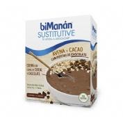 Bimanan sustitutive crema avena + cacao