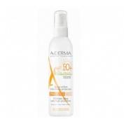 A-derma protect spray solar spf 50+ kids (200 ml)