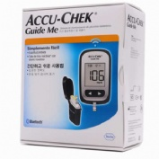 Glucometro medidor - accu-chek guide me (medidor + pinchador)