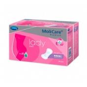 Absorb inc orina ligera - molicare premium lady pad (4.5 gotas 14 u)