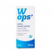 Wops gotas humectantes c/ ac hialuronico (10 ml)