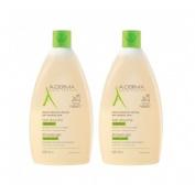 A-derma gel de ducha sobregraso (2 envases 500 ml)