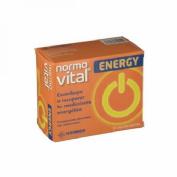 Normovital energy ampollas bebibles (20 ampollas)