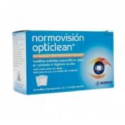 Normovision opticlean (30 toallitas)