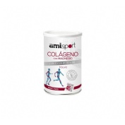 Colageno con magnesio + vit c + vit b1, b2 y b6 - amlsport (sabor fresa 350 g)