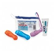 Cepillo dental adulto - kin viaje +pasta kin (25 ml)