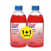 Oralkin enjuage 500 ml pack 2x1