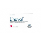 Linaval aceite de semillas de lino (500 mg 120 capsulas)