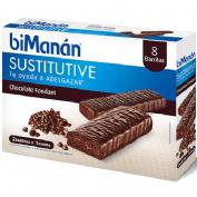 Bimanan beslim sustitutivo barrita (chocolate fondant 10 barritas x 31 g)