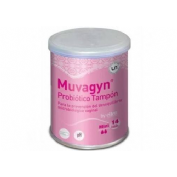 Muvagyn probiotico tampon vaginal (14 u mini)