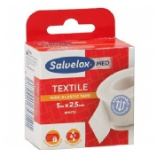 Esparadrapo - salvelox (textil blanco 5 x 2,5)