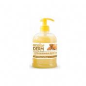 Acofarderm jabon de manos almendras dulces y miel (dosificador 500 ml)
