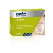 Sandoz bienestar detox (30 capsulas)