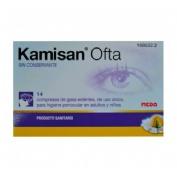 Kamisan ofta sin conservante higiene periocular - gasas algodon impregnadas en solucion (14 compresa