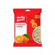 Acofarsweet caramelos s/ azucar (naranja bolsa 60 g)