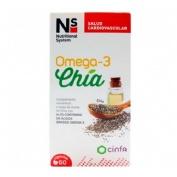 Ns omega 3 chia (60 capsulas)