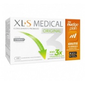Xls medical original captagrasas nudge (180 comprimidos)