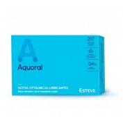 Aquoral gotas humectantes c/ a hialuronico 0.4% - gotas oftalmicas lubricantes esteriles (0.5 ml 20