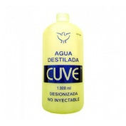 Agua destilada cuve (1000 ml)