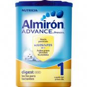 Almiron advance con pronutra digest 1 (polvo 800 g)