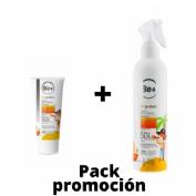 Be+ skin protect ultrafluido mineral infantil spf50+ (100 ml) + Be+ skin protect spray fluido infant