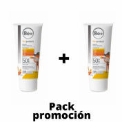 Be+ skin protect ultrafluido mineral infantil spf50+ (100 ml) PACK 2 UNIDADES