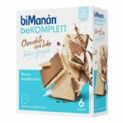 BIMANAN - BEKOMPLETT SNACK CHOCOLATE CON LECHE YOGUR (6 SNACKS)
