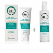 Be+ pack acne gel limpiador + emulsión reguladora matificante