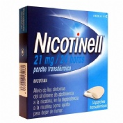 NICOTINELL 21 mg/24 HORAS PARCHE TRANSDERMICO, 14 parches