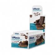 Bimanan barrita chocolate crujientes snack (35 g 1 bar (exp 24 u))