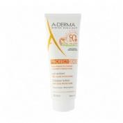 A-derma protect kids leche niños spf50+ - muy alta proteccion (1 envase 250 ml)