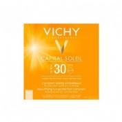Capital soleil spf 30 compacto solar matificante - polvos compactos (dore 9.5 ml)