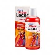 Lacer colutorio fluor diario 0,05 % (fresa 500 ml)